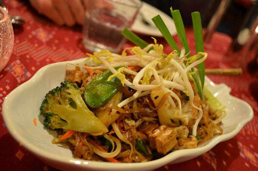 "Photo of River Kwai Thai and Burmese  by <a href=""/members/profile/chocoholicPhilosophe"">chocoholicPhilosophe</a> <br/>Tofu Pad Thai, no egg <br/> July 16, 2014  - <a href='/contact/abuse/image/48731/74212'>Report</a>"