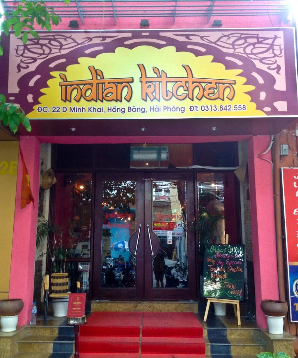 """Photo of Indian Kitchen  by <a href=""""/members/profile/Ranks42"""">Ranks42</a> <br/>Restaurant Entrance <br/> July 11, 2014  - <a href='/contact/abuse/image/48741/73701'>Report</a>"""