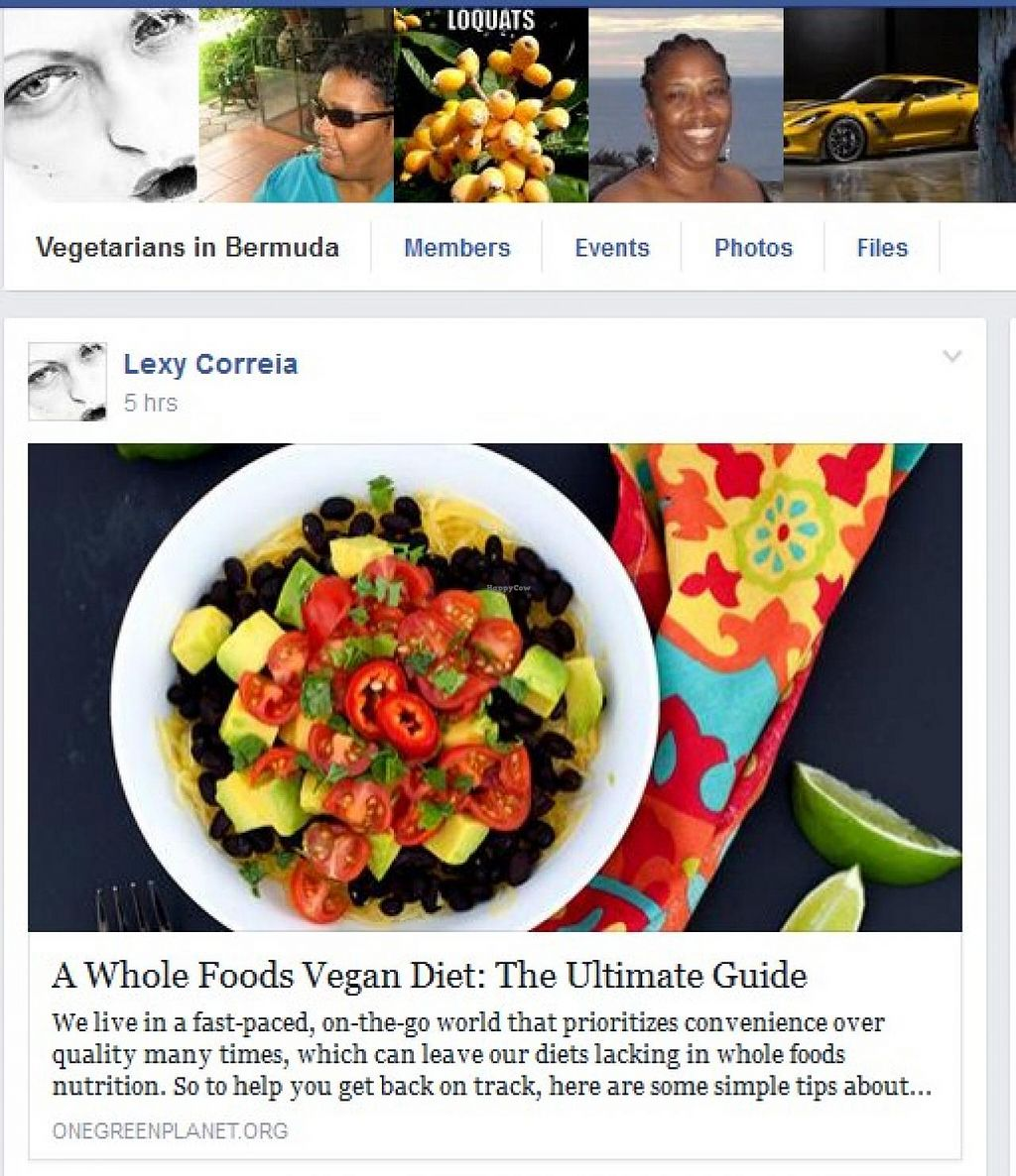 """Photo of Vegetarian Society of Bermuda  by <a href=""""/members/profile/community"""">community</a> <br/>Vegetarian Society of Bermuda <br/> July 11, 2014  - <a href='/contact/abuse/image/48793/73772'>Report</a>"""