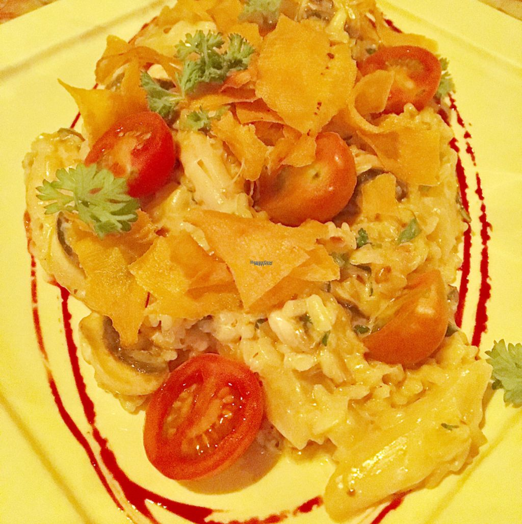 """Photo of Pad Thai  by <a href=""""/members/profile/milos99"""">milos99</a> <br/>veg risotto with tofu added  <br/> April 7, 2017  - <a href='/contact/abuse/image/48824/245418'>Report</a>"""