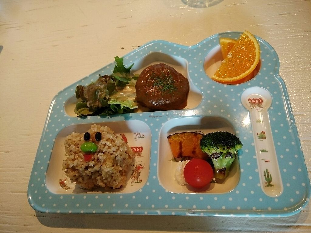 """Photo of Hibino Cafe AGT  by <a href=""""/members/profile/Lovemyveg"""">Lovemyveg</a> <br/>Kids Meal <br/> June 23, 2017  - <a href='/contact/abuse/image/48828/272533'>Report</a>"""