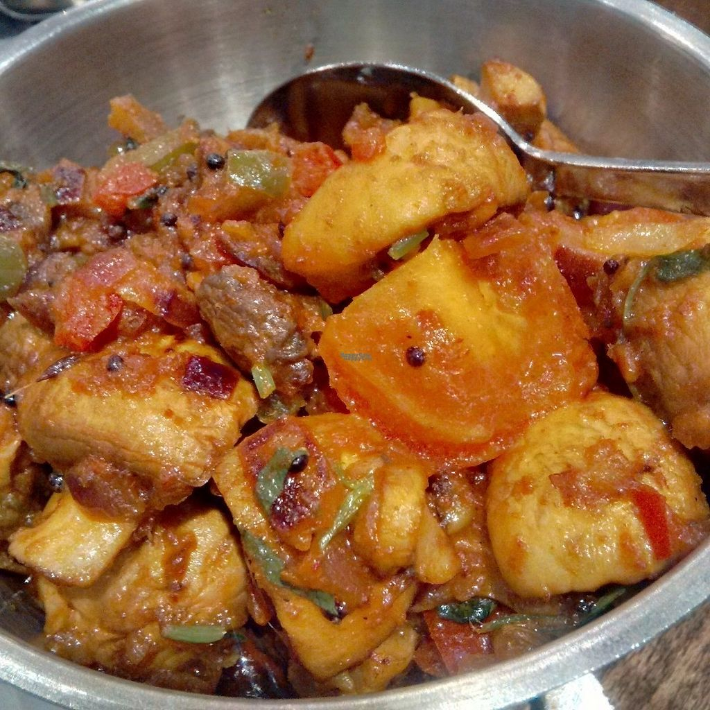 """Photo of Tharavadu  by <a href=""""/members/profile/Veganolive1"""">Veganolive1</a> <br/>Mushrooms in garlic and pepper <br/> September 25, 2016  - <a href='/contact/abuse/image/48849/177884'>Report</a>"""
