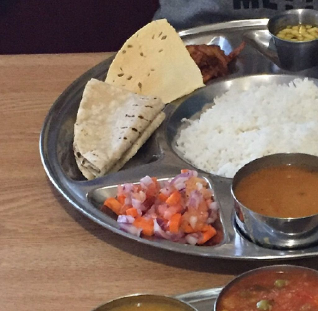 "Photo of Vatica Indian Restaurant  by <a href=""/members/profile/Gregpope410"">Gregpope410</a> <br/>beautiful and delicious Thali's <br/> November 26, 2015  - <a href='/contact/abuse/image/4888/199070'>Report</a>"