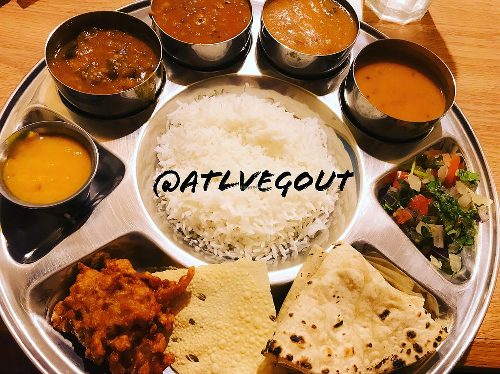 "Photo of Vatica Indian Restaurant  by <a href=""/members/profile/calamaestra"">calamaestra</a> <br/>Thali  <br/> November 26, 2017  - <a href='/contact/abuse/image/4888/329501'>Report</a>"