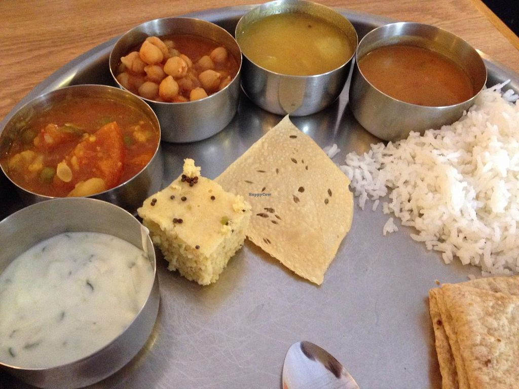 "Photo of Vatica Indian Restaurant  by <a href=""/members/profile/calamaestra"">calamaestra</a> <br/>Platter  <br/> February 8, 2015  - <a href='/contact/abuse/image/4888/92616'>Report</a>"