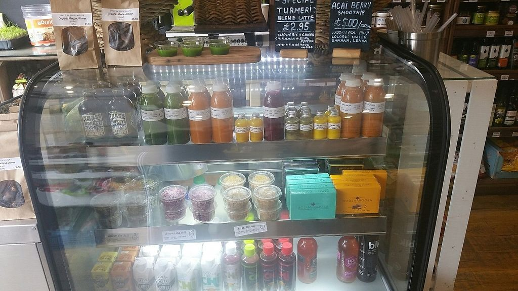 """Photo of Sprout Juicery  by <a href=""""/members/profile/jollypig"""">jollypig</a> <br/>At the bar <br/> April 29, 2017  - <a href='/contact/abuse/image/48895/253678'>Report</a>"""