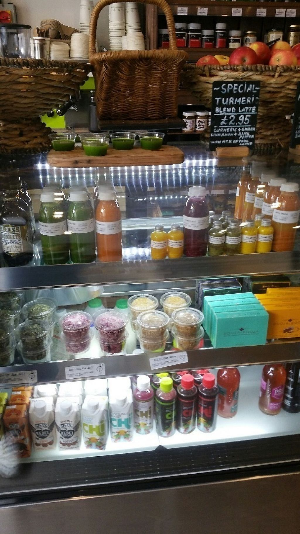 """Photo of Sprout Juicery  by <a href=""""/members/profile/jollypig"""">jollypig</a> <br/>More things at the bar <br/> April 29, 2017  - <a href='/contact/abuse/image/48895/253683'>Report</a>"""