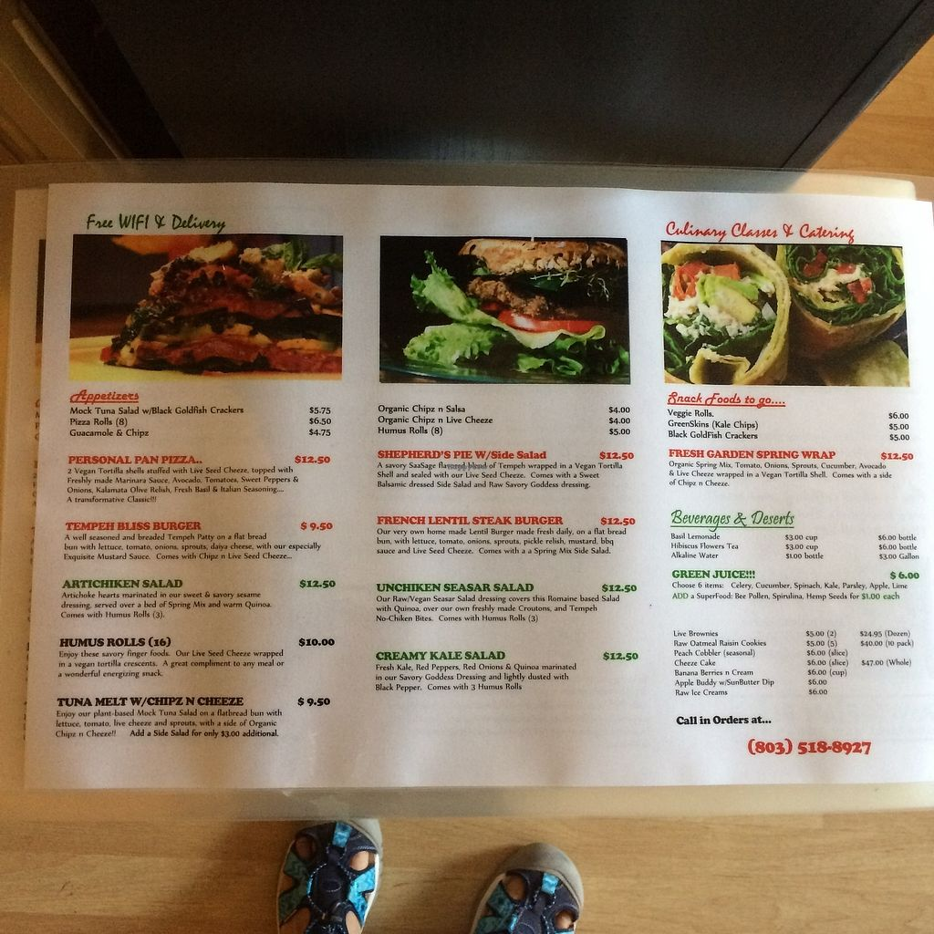 "Photo of Rawtopian Bliss Cafe  by <a href=""/members/profile/KatieBush"">KatieBush</a> <br/>menu 2 <br/> September 25, 2017  - <a href='/contact/abuse/image/48900/308224'>Report</a>"