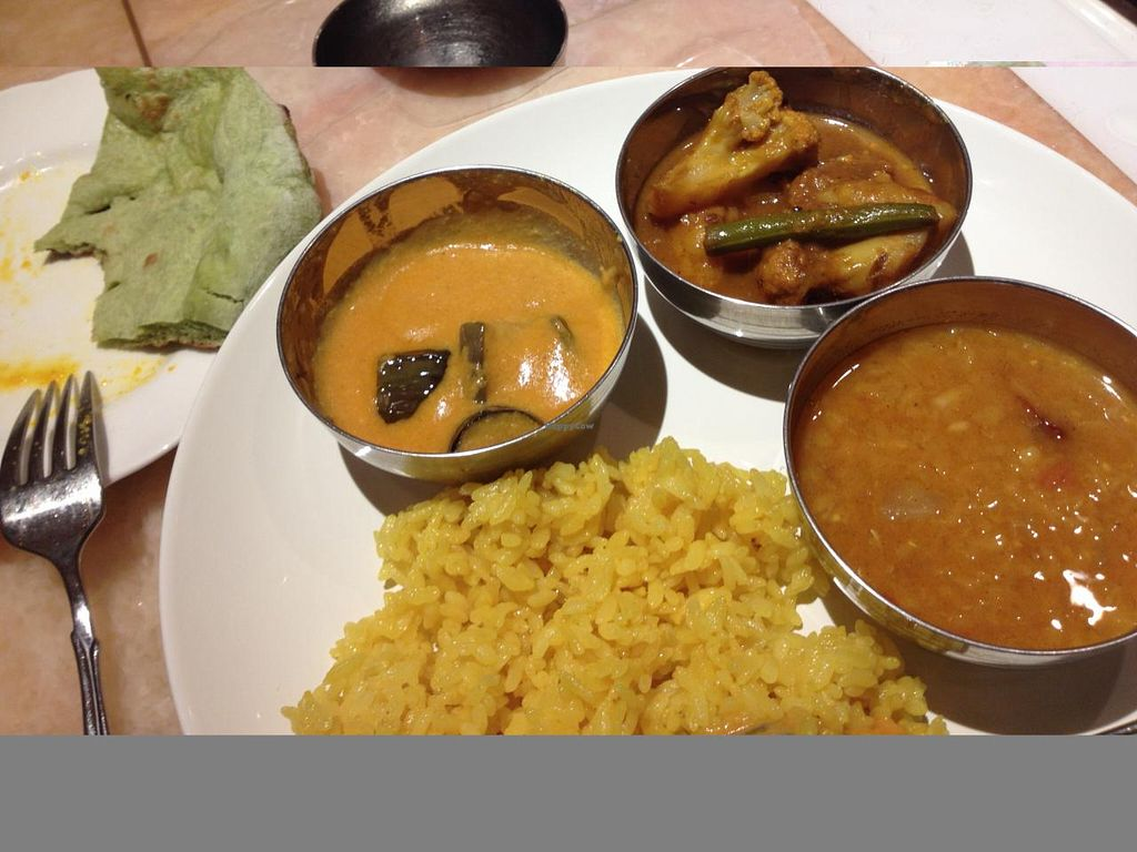 """Photo of Nataraj - Ginza  by <a href=""""/members/profile/SP"""">SP</a> <br/>veggie buffet lunch <br/> June 23, 2015  - <a href='/contact/abuse/image/4894/107139'>Report</a>"""