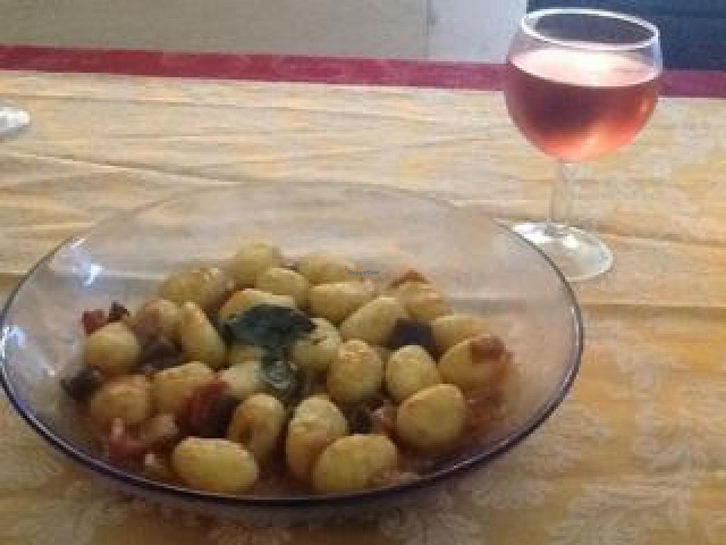 "Photo of CLOSED: Ben D'Iddio  by <a href=""/members/profile/Rongie"">Rongie</a> <br/>Home made gnocchi with eggplant porcini. yum <br/> August 11, 2014  - <a href='/contact/abuse/image/48951/76706'>Report</a>"
