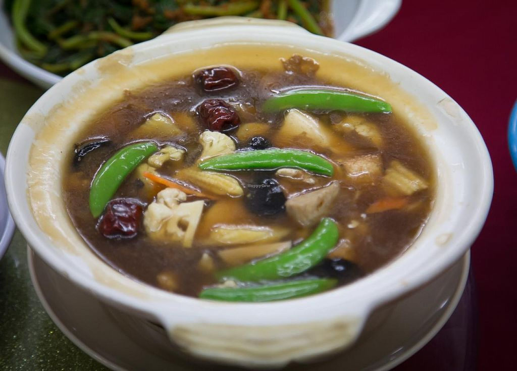 """Photo of Hong Yaun Vegetarian  by <a href=""""/members/profile/AndyT"""">AndyT</a> <br/>Hong Yaun Vegetarian - vegan food <br/> July 30, 2014  - <a href='/contact/abuse/image/48955/75523'>Report</a>"""
