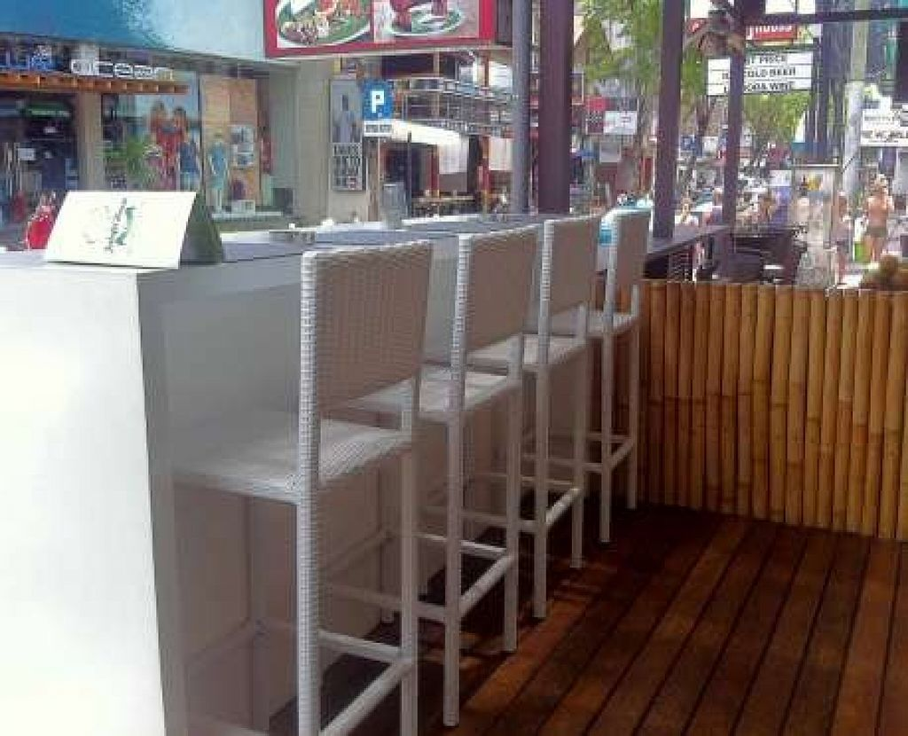 """Photo of Falafel House  by <a href=""""/members/profile/Charliegi"""">Charliegi</a> <br/>Outside Bar, Facing the main legian road, great for a drink with friends <br/> October 11, 2015  - <a href='/contact/abuse/image/48965/120943'>Report</a>"""