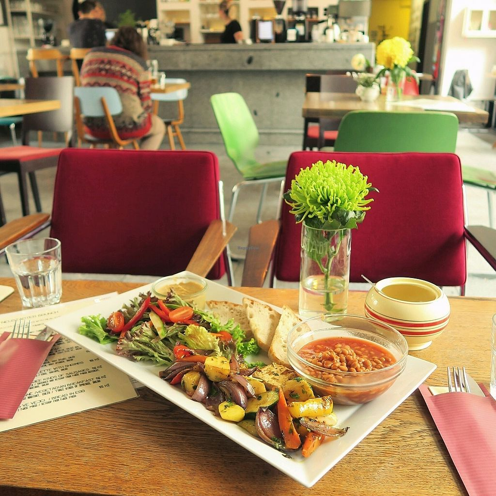 """Photo of Cafe Neustadt  by <a href=""""/members/profile/Nikolate"""">Nikolate</a> <br/>very vegan breakfast <br/> October 26, 2017  - <a href='/contact/abuse/image/48991/318976'>Report</a>"""