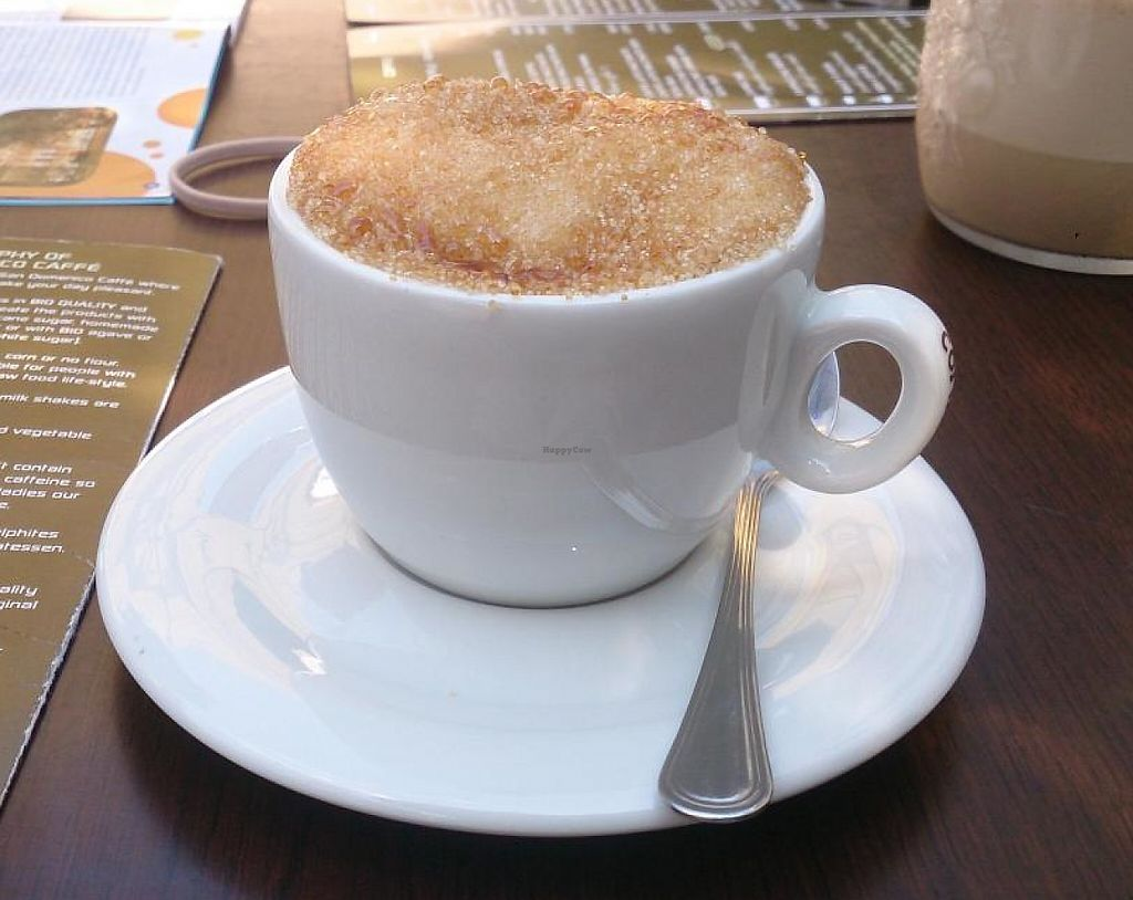 "Photo of San Domenico Caffe  by <a href=""/members/profile/Ruru"">Ruru</a> <br/>Creme Brulee Cappuccino <br/> August 26, 2014  - <a href='/contact/abuse/image/48999/243725'>Report</a>"