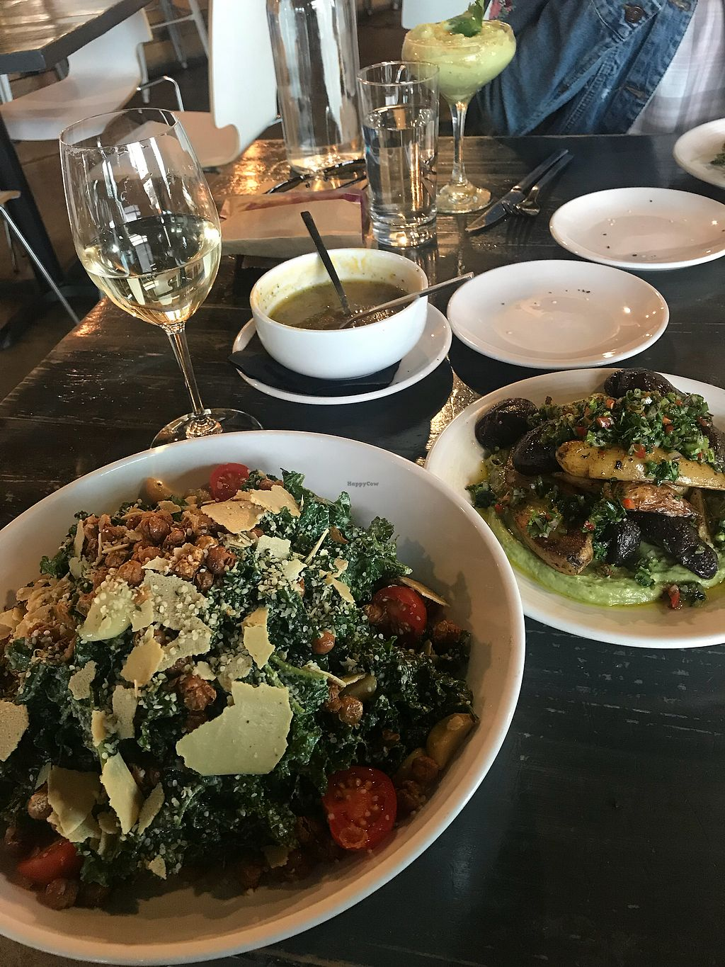 """Photo of Avo  by <a href=""""/members/profile/rachelurioste"""">rachelurioste</a> <br/>fingerlings potatoes & kale ceasar <br/> April 6, 2018  - <a href='/contact/abuse/image/49007/381386'>Report</a>"""