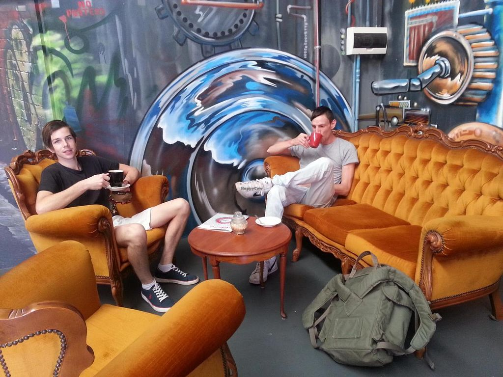 """Photo of Ground Control Coffee  by <a href=""""/members/profile/EffieVourie"""">EffieVourie</a> <br/>chilling out at Ground Control Coffee <br/> July 20, 2014  - <a href='/contact/abuse/image/49014/74582'>Report</a>"""