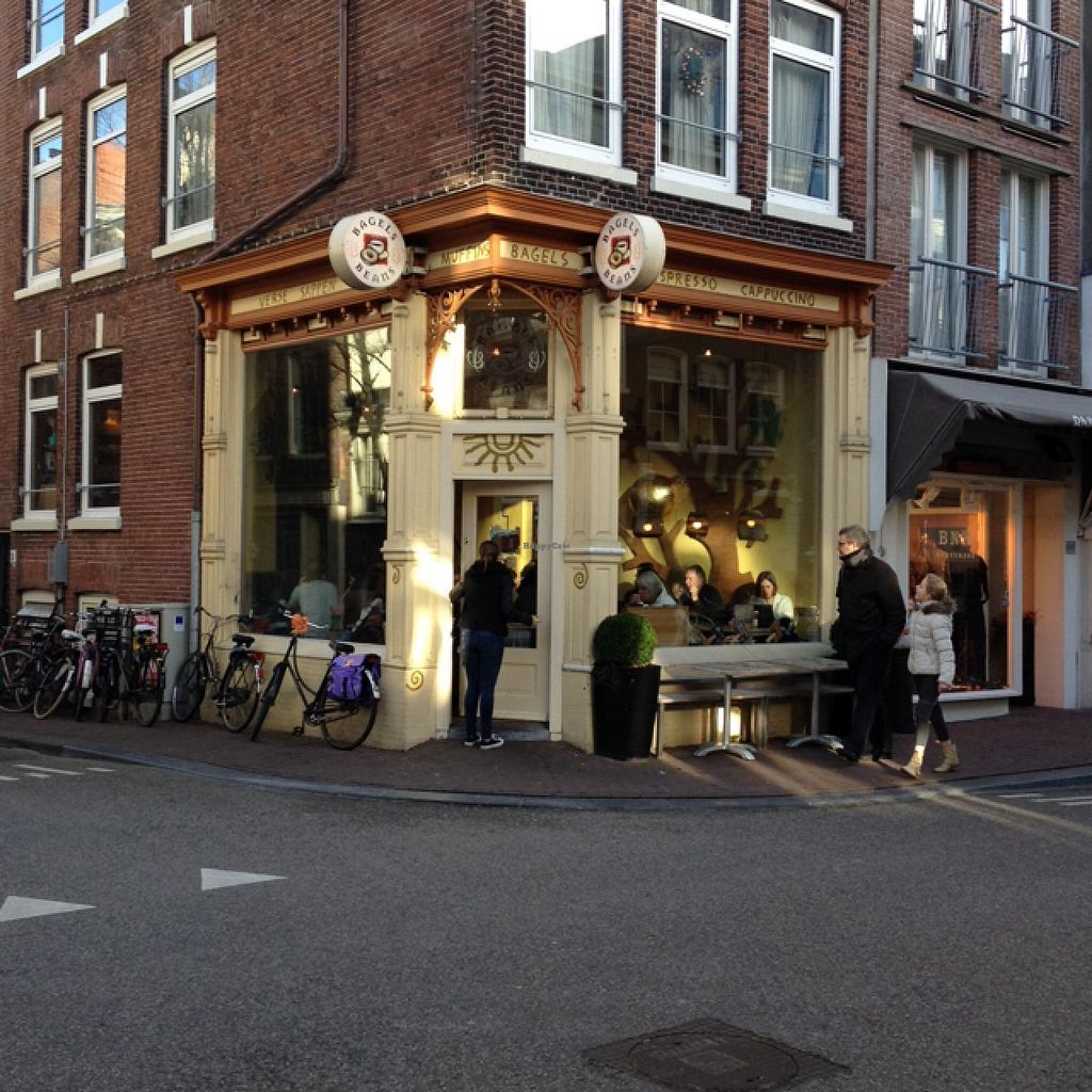 """Photo of Bagels & Beans - Haarlemmerdijk  by <a href=""""/members/profile/hack_man"""">hack_man</a> <br/>Outside <br/> January 2, 2015  - <a href='/contact/abuse/image/49016/89310'>Report</a>"""