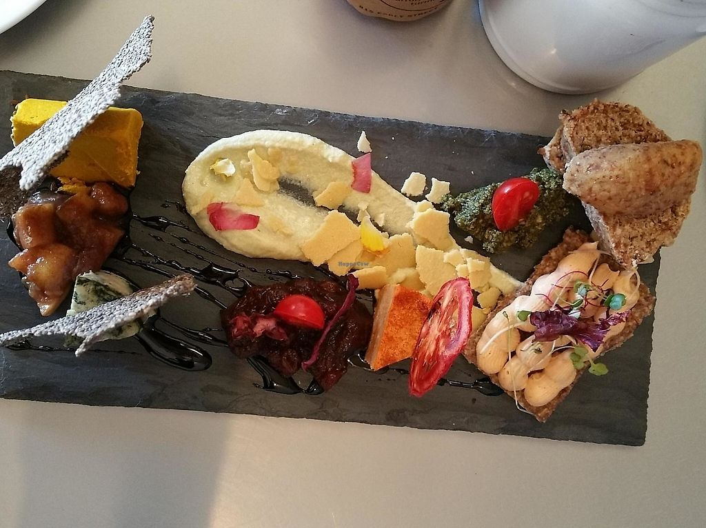 """Photo of CLOSED: RASA Kitchen + Juice Bar  by <a href=""""/members/profile/drdebnmd"""">drdebnmd</a> <br/>Raw cheese plate <br/> January 17, 2015  - <a href='/contact/abuse/image/49022/209219'>Report</a>"""