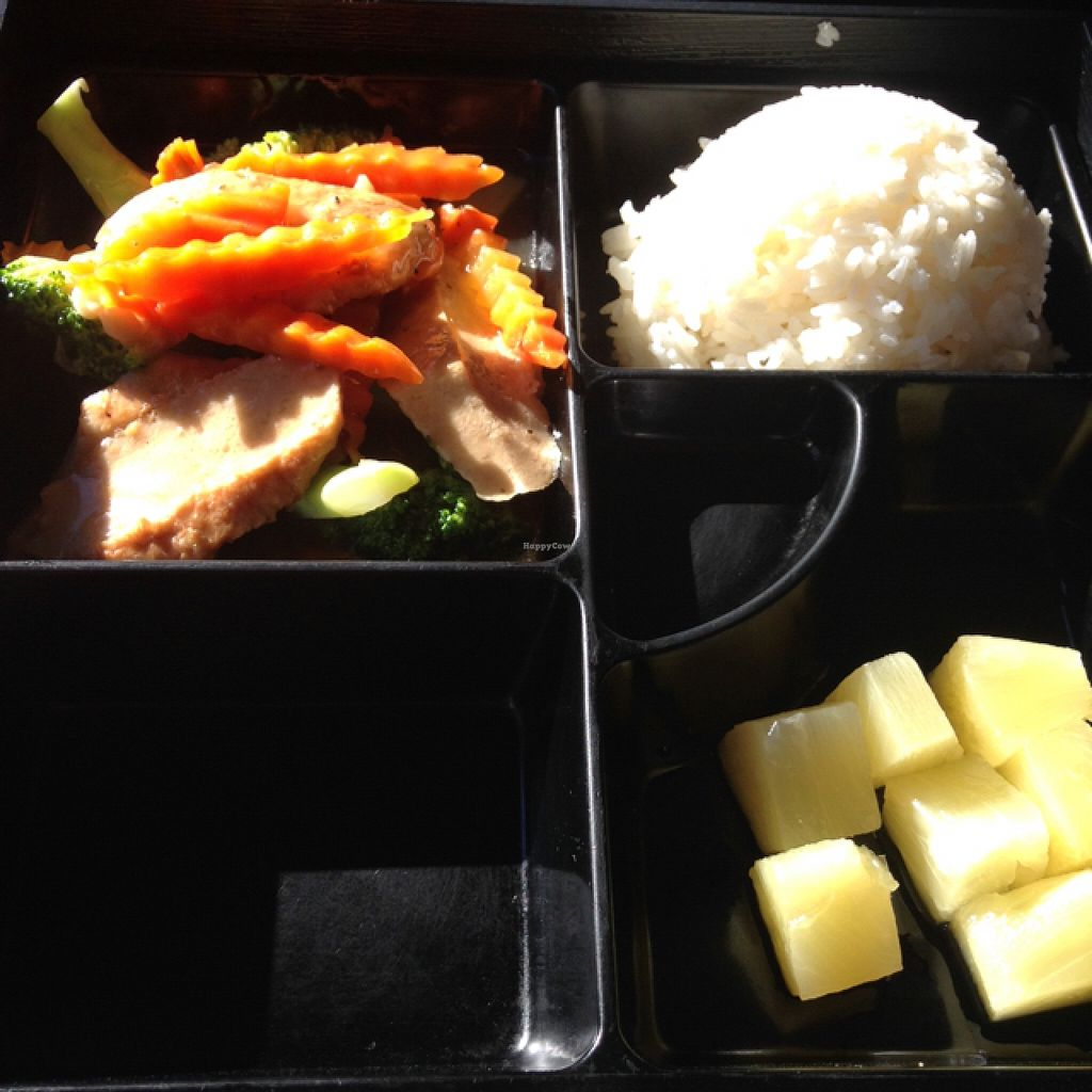 """Photo of Forest Thai  by <a href=""""/members/profile/nardanddee"""">nardanddee</a> <br/>sautéed soy chicken and broccoli lunch box <br/> November 3, 2015  - <a href='/contact/abuse/image/49029/123702'>Report</a>"""