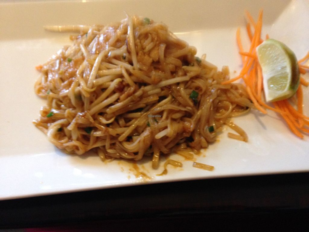 """Photo of Forest Thai  by <a href=""""/members/profile/nardanddee"""">nardanddee</a> <br/>pad thai w/ soy chicken, no egg and no peanuts <br/> February 24, 2016  - <a href='/contact/abuse/image/49029/137571'>Report</a>"""