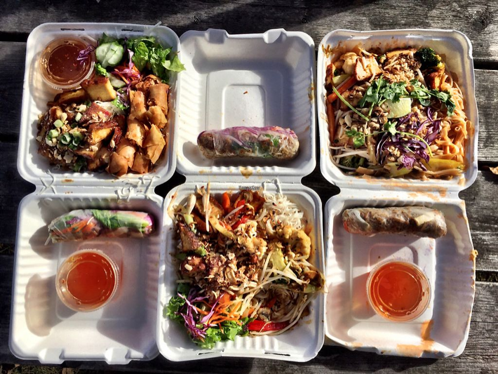 "Photo of Tamarind Vietnamese Grill and Noodle House  by <a href=""/members/profile/Madimassacre"">Madimassacre</a> <br/>Pad thai, salad rolls, satè and vermicelli  <br/> November 12, 2016  - <a href='/contact/abuse/image/49030/189019'>Report</a>"