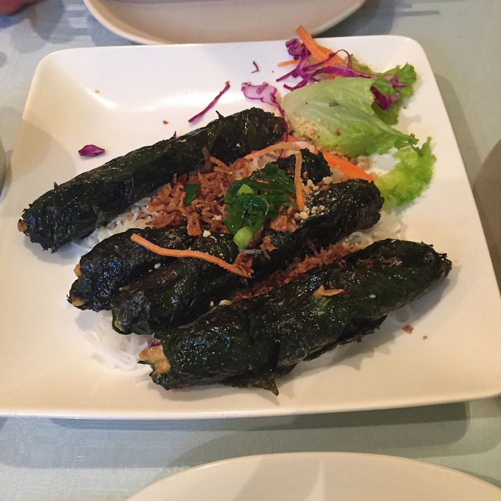 "Photo of Tamarind Vietnamese Grill and Noodle House  by <a href=""/members/profile/Chachasid"">Chachasid</a> <br/>$9.00 Veggie La Lot Rolls <br/> March 25, 2017  - <a href='/contact/abuse/image/49030/240806'>Report</a>"