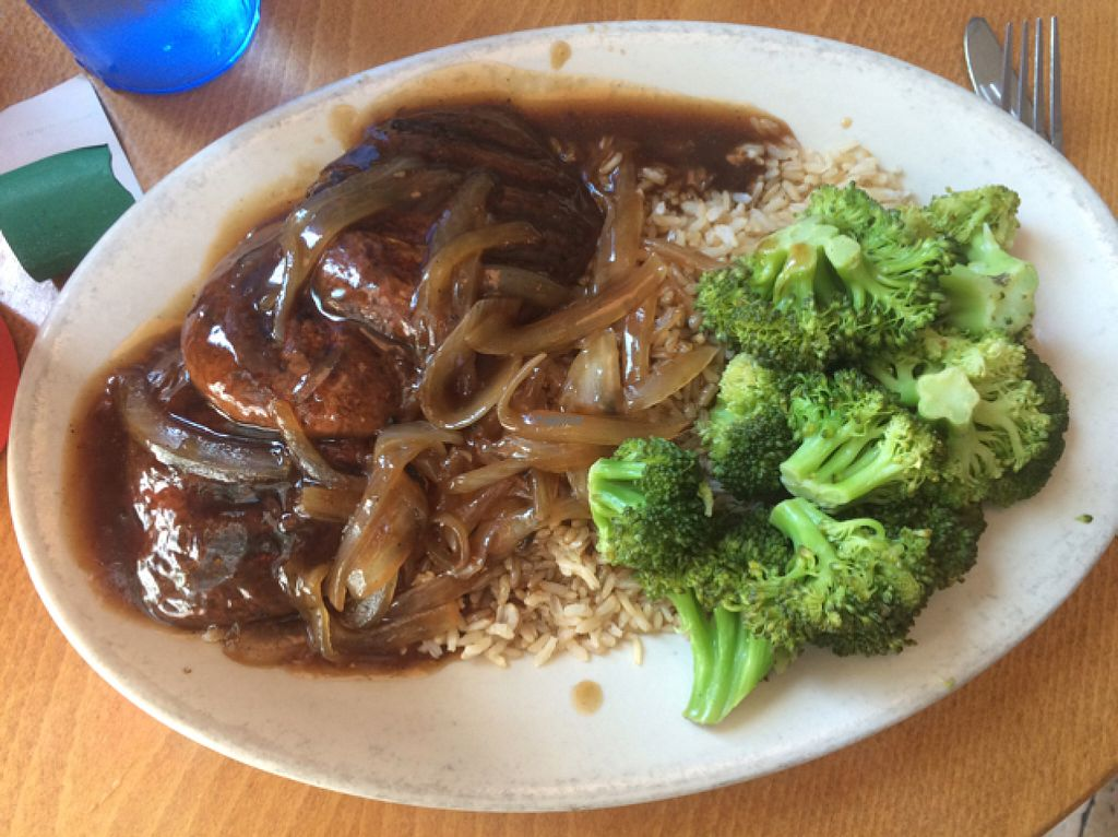 """Photo of The Wherehouse  by <a href=""""/members/profile/LaceyWalker"""">LaceyWalker</a> <br/>vegan Marsala plate  <br/> August 21, 2016  - <a href='/contact/abuse/image/49031/170484'>Report</a>"""