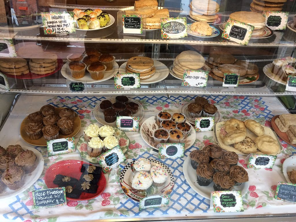 "Photo of Shambala Bakery and Bistro  by <a href=""/members/profile/Arti"">Arti</a> <br/>So many goodies <br/> October 1, 2017  - <a href='/contact/abuse/image/49034/310718'>Report</a>"
