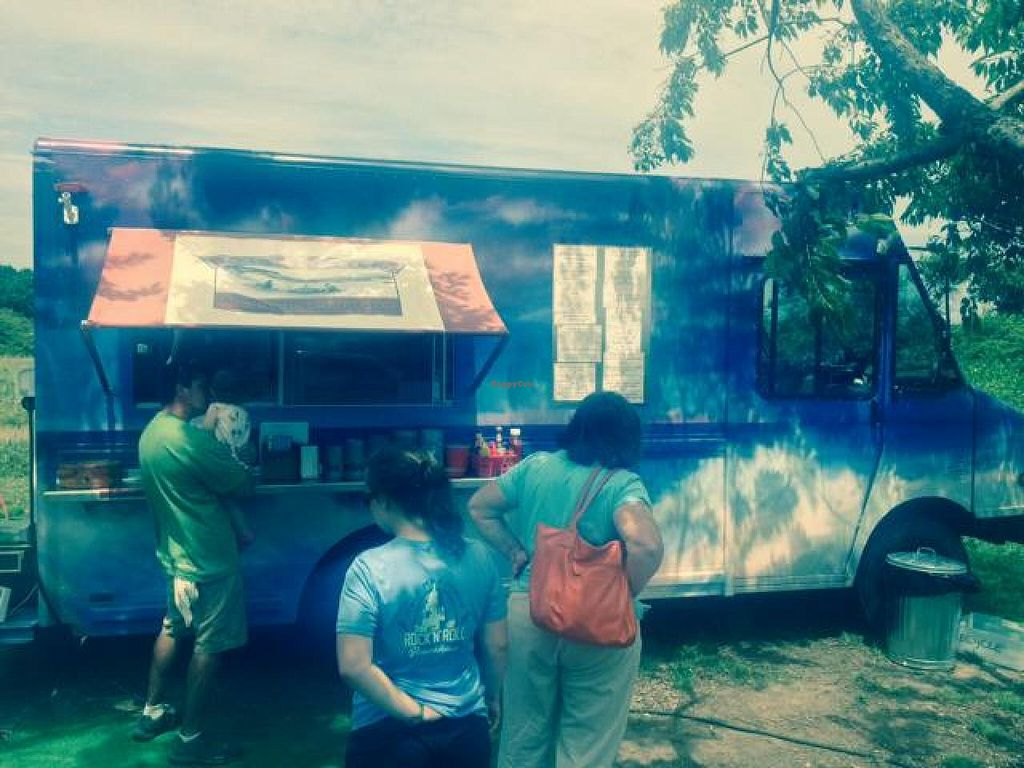 """Photo of Pots and Kettles Food Truck  by <a href=""""/members/profile/apuerini"""">apuerini</a> <br/>Waiting in line for a delicious lunch! <br/> July 26, 2014  - <a href='/contact/abuse/image/49052/75188'>Report</a>"""