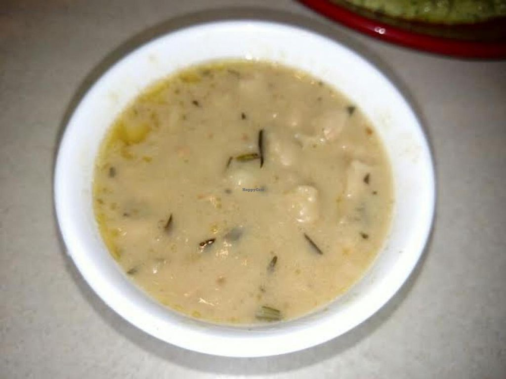 """Photo of Zoe's Kitchen  by <a href=""""/members/profile/Jett-Setter"""">Jett-Setter</a> <br/>Braised white bean with fresh basil <br/> June 5, 2015  - <a href='/contact/abuse/image/49056/104886'>Report</a>"""
