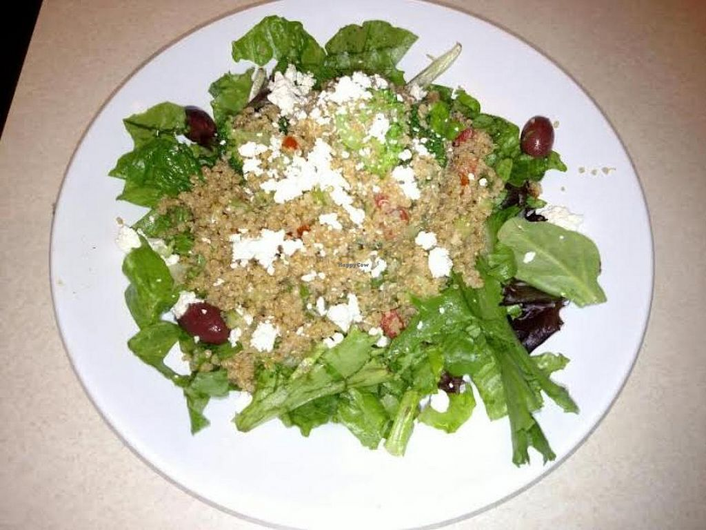 """Photo of Zoe's Kitchen  by <a href=""""/members/profile/Jett-Setter"""">Jett-Setter</a> <br/>Quinoa Salad <br/> June 5, 2015  - <a href='/contact/abuse/image/49056/104887'>Report</a>"""