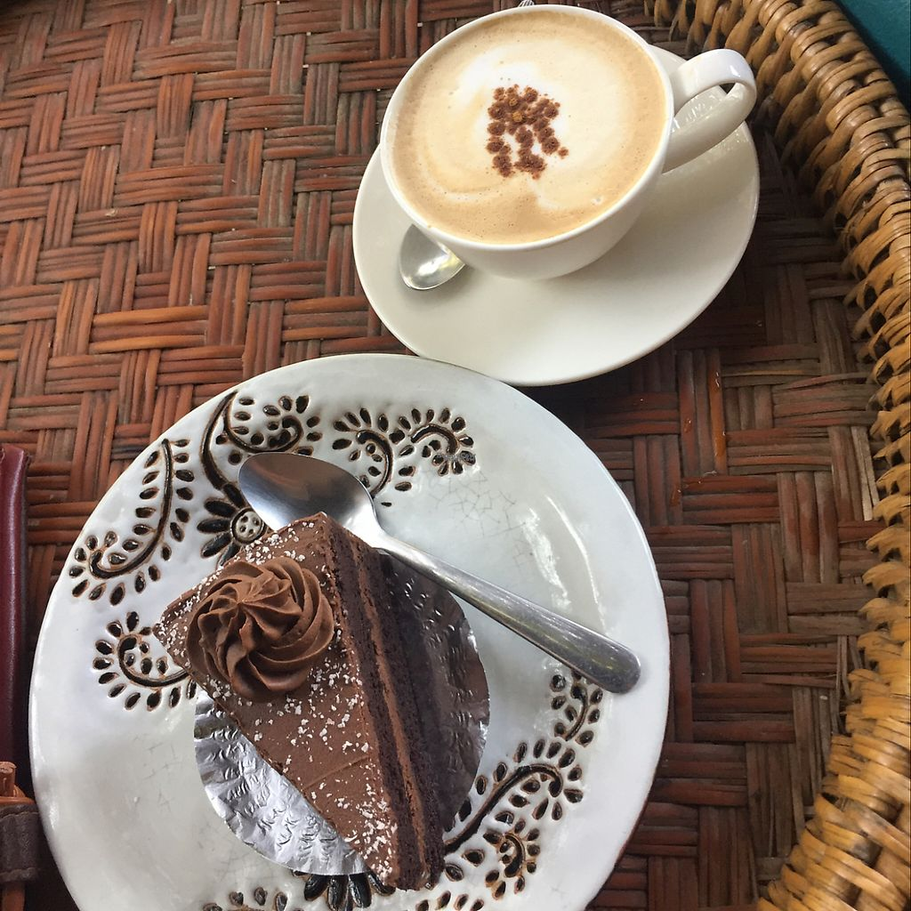 "Photo of Amrita Garden  by <a href=""/members/profile/Liv%20sessan"">Liv sessan</a> <br/>Cappuccino and chocolate cake <br/> December 12, 2016  - <a href='/contact/abuse/image/49074/200128'>Report</a>"