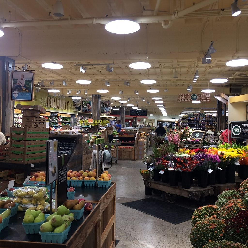 """Photo of Whole Foods Market - Broad St  by <a href=""""/members/profile/KatieBush"""">KatieBush</a> <br/>produce area <br/> October 9, 2017  - <a href='/contact/abuse/image/49084/313750'>Report</a>"""