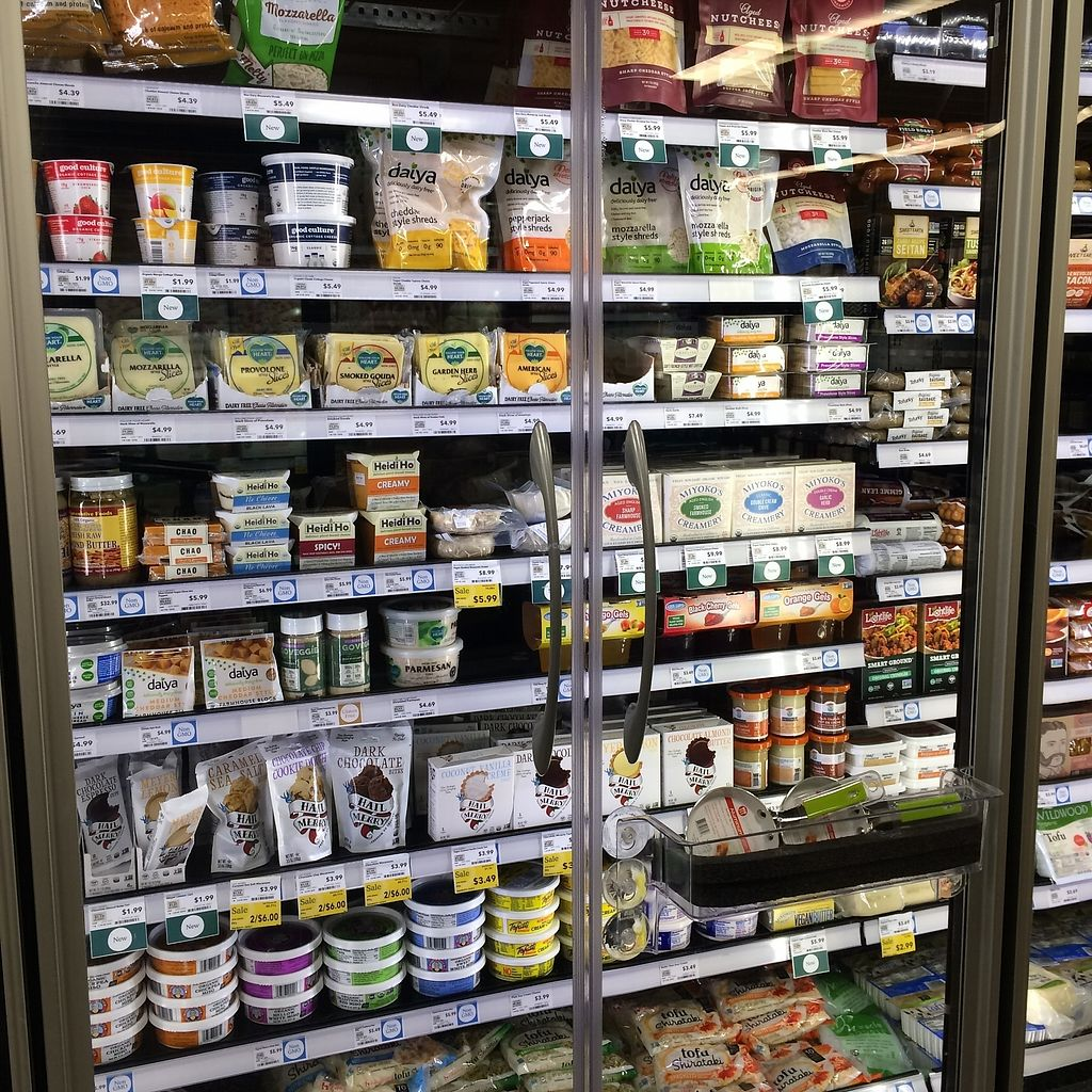"""Photo of Whole Foods Market - Broad St  by <a href=""""/members/profile/KatieBush"""">KatieBush</a> <br/>vegan stuff <br/> October 9, 2017  - <a href='/contact/abuse/image/49084/313751'>Report</a>"""