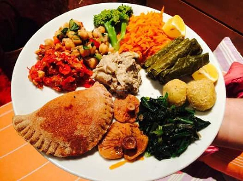 """Photo of Community Kitchen  by <a href=""""/members/profile/oyatoris"""">oyatoris</a> <br/>Mezze plate <br/> January 7, 2016  - <a href='/contact/abuse/image/49106/131385'>Report</a>"""