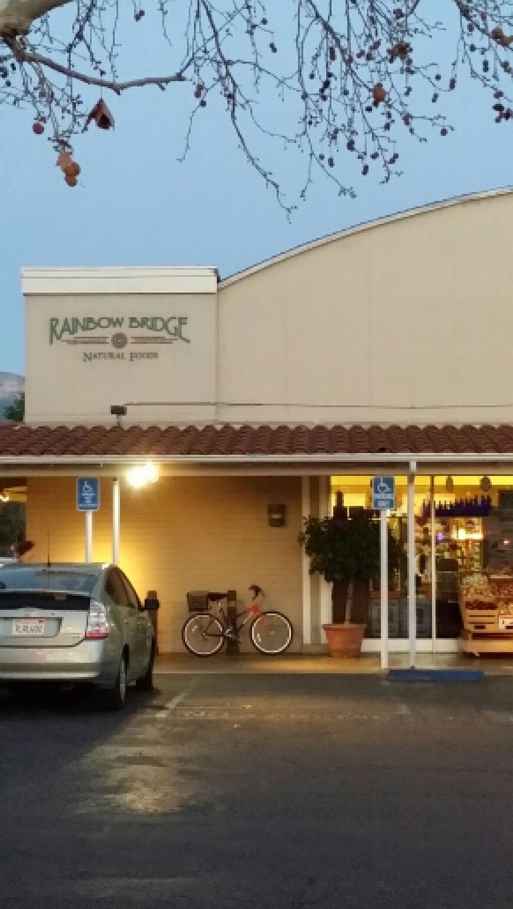"""Photo of Rainbow Bridge Natural Foods  by <a href=""""/members/profile/catbone"""">catbone</a> <br/>Storefront <br/> February 25, 2016  - <a href='/contact/abuse/image/4913/137654'>Report</a>"""