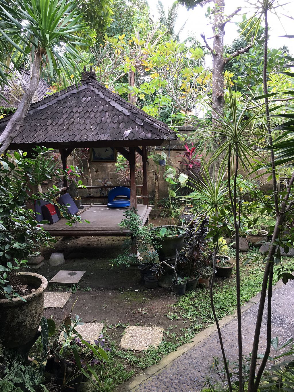 """Photo of Lotus Pond Cafe at Kuta Central Park Hotel  by <a href=""""/members/profile/zitath"""">zitath</a> <br/>meditation corner <br/> July 4, 2017  - <a href='/contact/abuse/image/49149/276604'>Report</a>"""