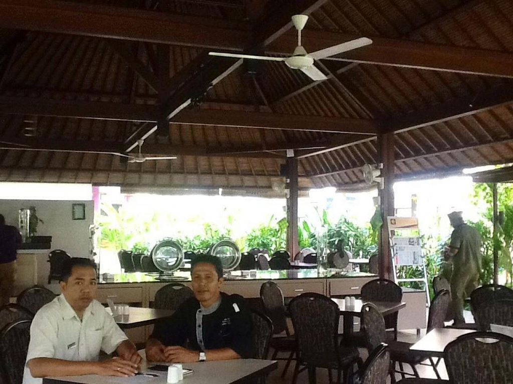 """Photo of Lotus Pond Cafe at Kuta Central Park Hotel  by <a href=""""/members/profile/Berylvt"""">Berylvt</a> <br/>Manager and Executive chef in the zlotys Pond Cafe.  <br/> July 25, 2014  - <a href='/contact/abuse/image/49149/75070'>Report</a>"""