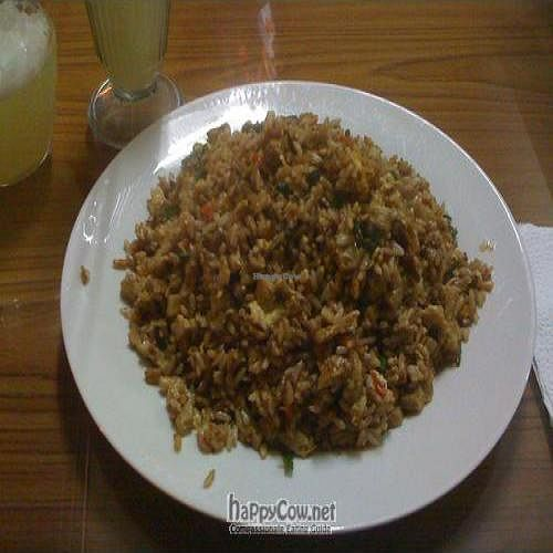 "Photo of Sayel Restaurante Vegetariano  by <a href=""/members/profile/LeifE"">LeifE</a> <br/>Arroz Chaufa and Limonada <br/> December 9, 2009  - <a href='/contact/abuse/image/4914/3079'>Report</a>"