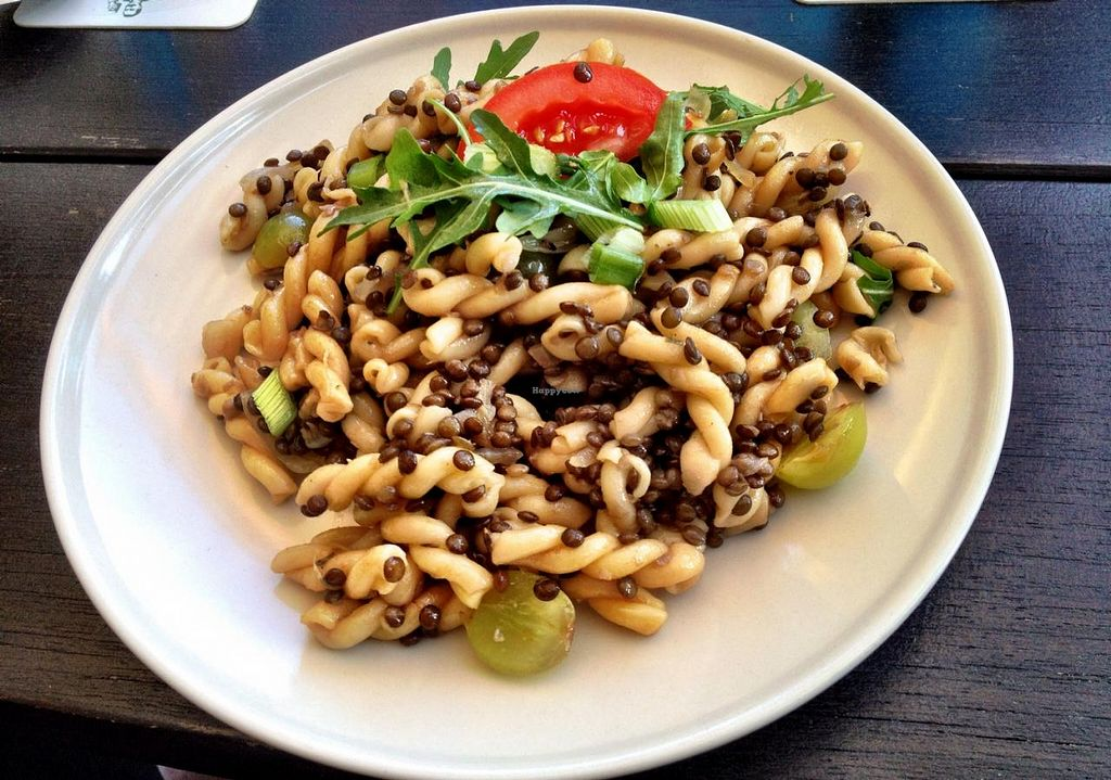 """Photo of Gaststatte Tremonia Auch Porreebar  by <a href=""""/members/profile/saku"""">saku</a> <br/>Dish from the vegan menu on thursdays <br/> June 12, 2015  - <a href='/contact/abuse/image/49162/105538'>Report</a>"""