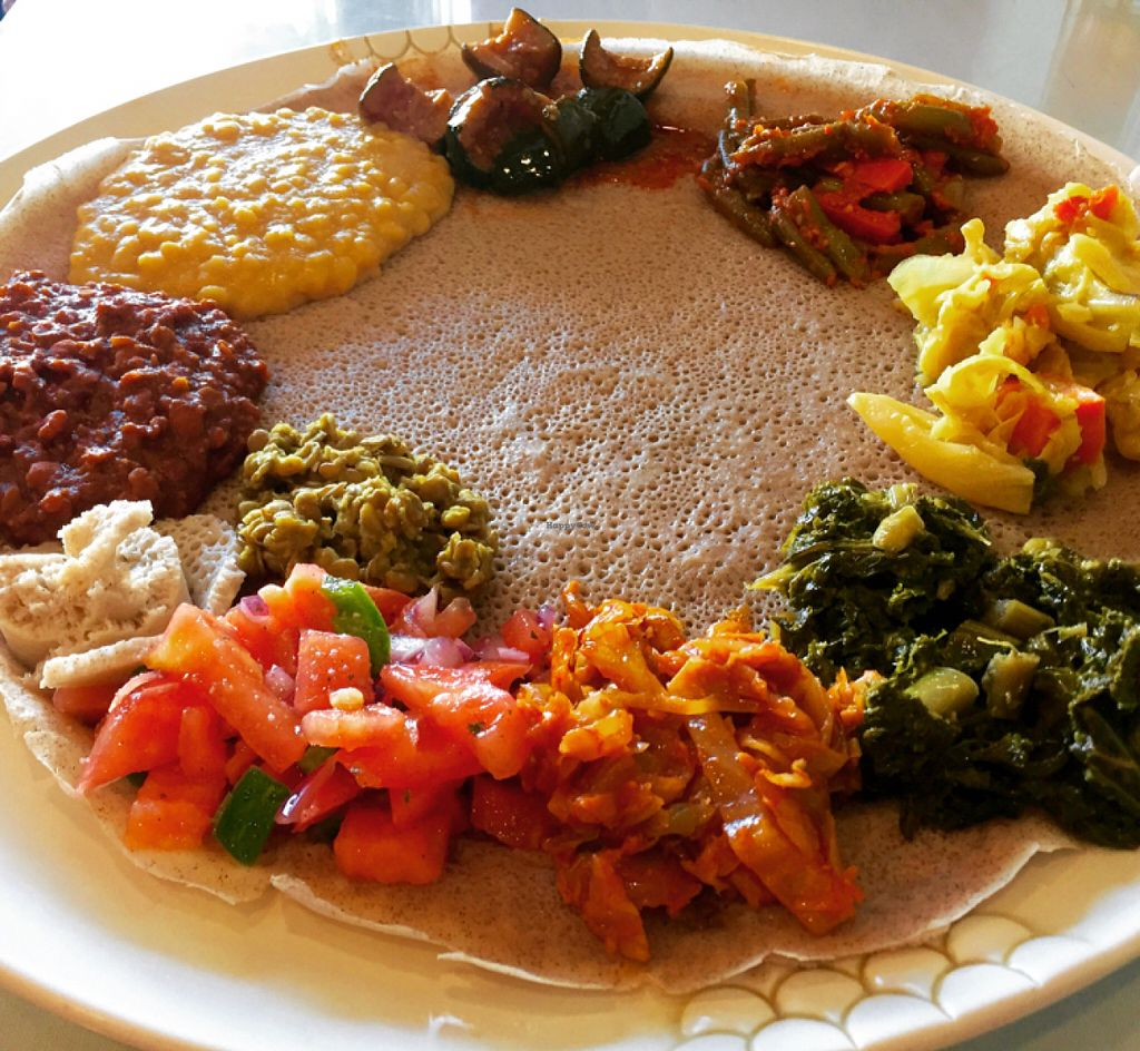 "Photo of Rahel Ethiopian Vegan Cuisine  by <a href=""/members/profile/VeganCookieLover"">VeganCookieLover</a> <br/>The Vegan Feast  <br/> June 26, 2016  - <a href='/contact/abuse/image/4917/156287'>Report</a>"