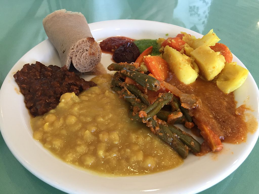 "Photo of Rahel Ethiopian Vegan Cuisine  by <a href=""/members/profile/VeganCookieLover"">VeganCookieLover</a> <br/>Lunch buffet  <br/> December 3, 2017  - <a href='/contact/abuse/image/4917/331764'>Report</a>"