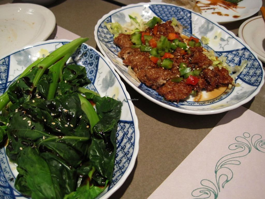 """Photo of Yuan Vegetarien  by <a href=""""/members/profile/Babette"""">Babette</a> <br/>Chinese broccoli and Sesame vegan eel.  De-li-cious <br/> May 10, 2016  - <a href='/contact/abuse/image/4918/148383'>Report</a>"""