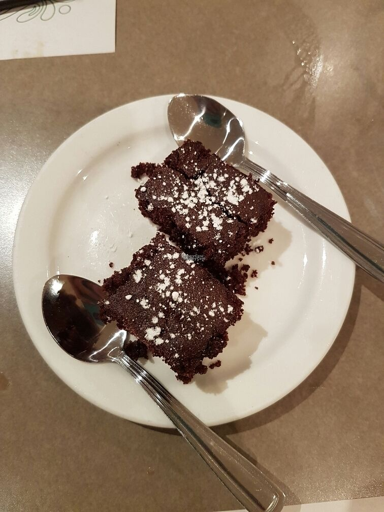 """Photo of Yuan Vegetarien  by <a href=""""/members/profile/Veganchick11"""">Veganchick11</a> <br/>vegan brownie  <br/> September 25, 2016  - <a href='/contact/abuse/image/4918/177938'>Report</a>"""