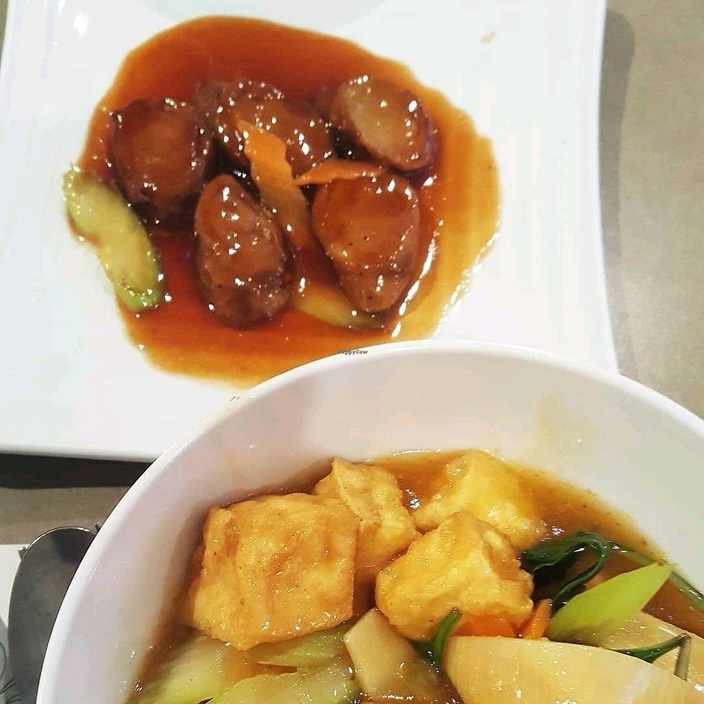 "Photo of Yuan Vegetarien  by <a href=""/members/profile/MatteoVillanova"">MatteoVillanova</a> <br/>saucisses et tofu aux légumes  <br/> March 15, 2018  - <a href='/contact/abuse/image/4918/371064'>Report</a>"