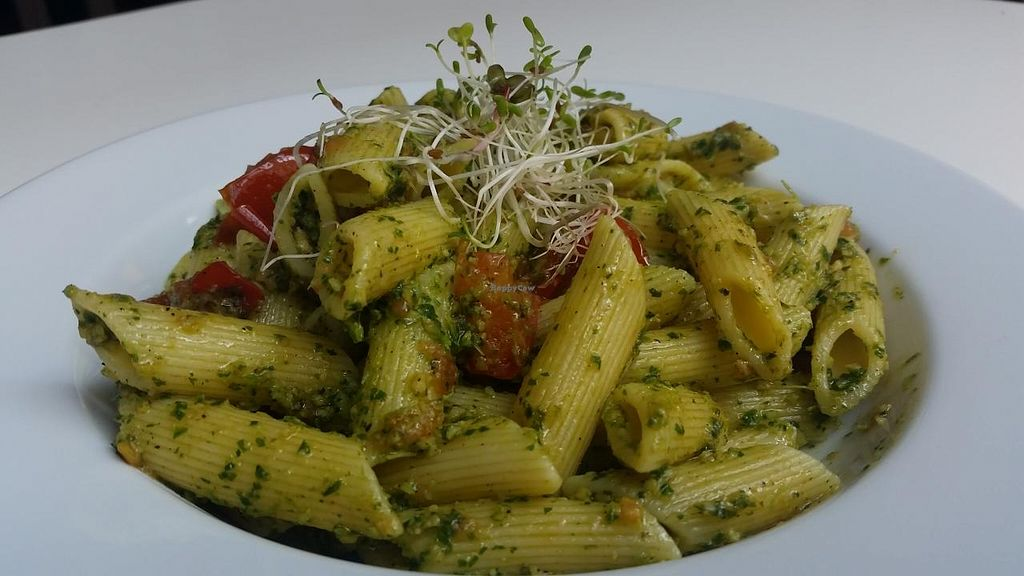 "Photo of CLOSED: Kubek I Olowek  by <a href=""/members/profile/kenvegan"">kenvegan</a> <br/>Pesto Pasta <br/> May 6, 2015  - <a href='/contact/abuse/image/49197/101380'>Report</a>"