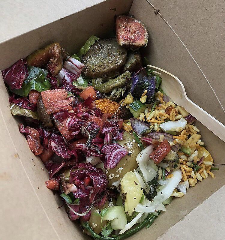 "Photo of Kemis Pontcanna  by <a href=""/members/profile/bethanmariehill"">bethanmariehill</a> <br/>small takeaway salad  <br/> July 29, 2017  - <a href='/contact/abuse/image/49200/286125'>Report</a>"
