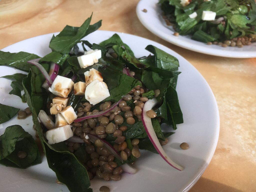 """Photo of Pan Comido Vegetariano - Darwin   by <a href=""""/members/profile/JessicaCarpenter"""">JessicaCarpenter</a> <br/>Lentil ceviche with tofu <br/> August 14, 2017  - <a href='/contact/abuse/image/49219/292481'>Report</a>"""