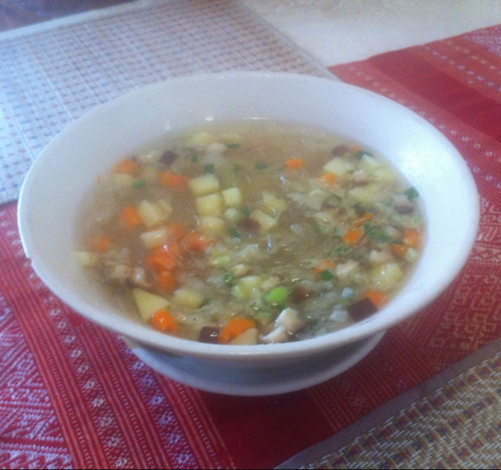 """Photo of Visoun  by <a href=""""/members/profile/Arvid"""">Arvid</a> <br/>Rice noodle soup (20,000 kip) <br/> February 14, 2016  - <a href='/contact/abuse/image/49244/136350'>Report</a>"""