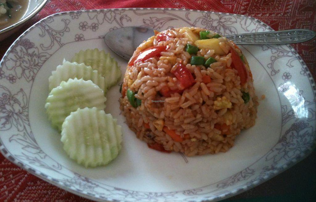 "Photo of Visoun  by <a href=""/members/profile/walkingvegan"">walkingvegan</a> <br/>Vegetarian fried rice for 18000 k <br/> July 27, 2014  - <a href='/contact/abuse/image/49244/75265'>Report</a>"